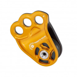 Eccentric Pulley DMM - Gold